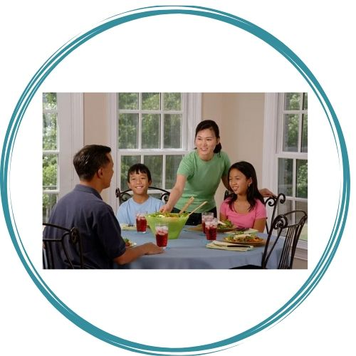 cibo e relazioni familiari