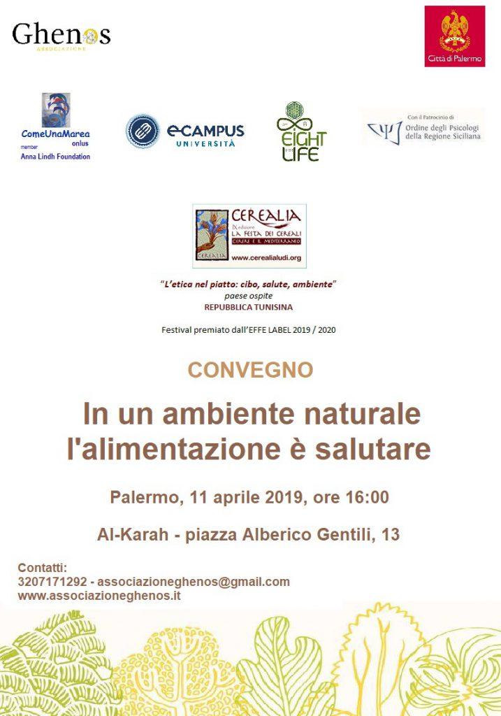 evento convegno alimentazione salute ambiente palermo