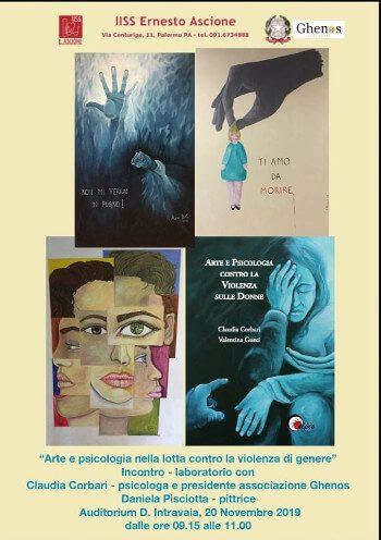 arte e psicologia contro la violenza di genere